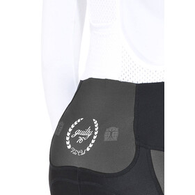 guilty 76 racing Velo Club Pro Race - Culotte con tirantes Mujer - negro